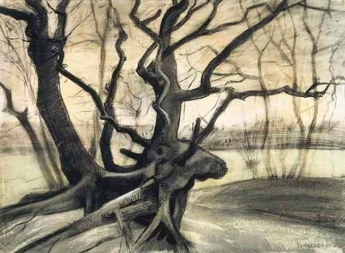 vincent-van-gogh-raices-de-arbol-1882