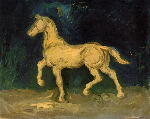 plaster-statuette-of-a-horse-1885