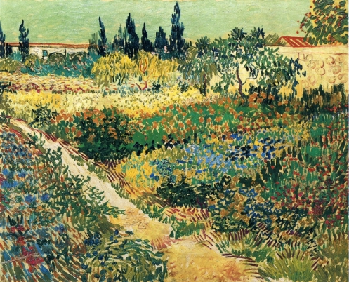 Garden with Flowers 1888