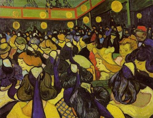 La salle de danse à Arles 1888