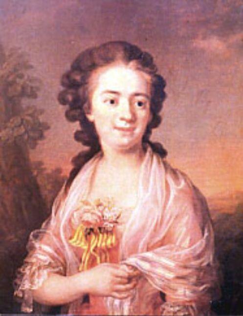 Ulrika Fredrika Pasch (1735-1796) en 1770
