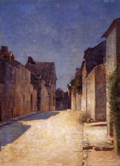 1888 Street in Samois