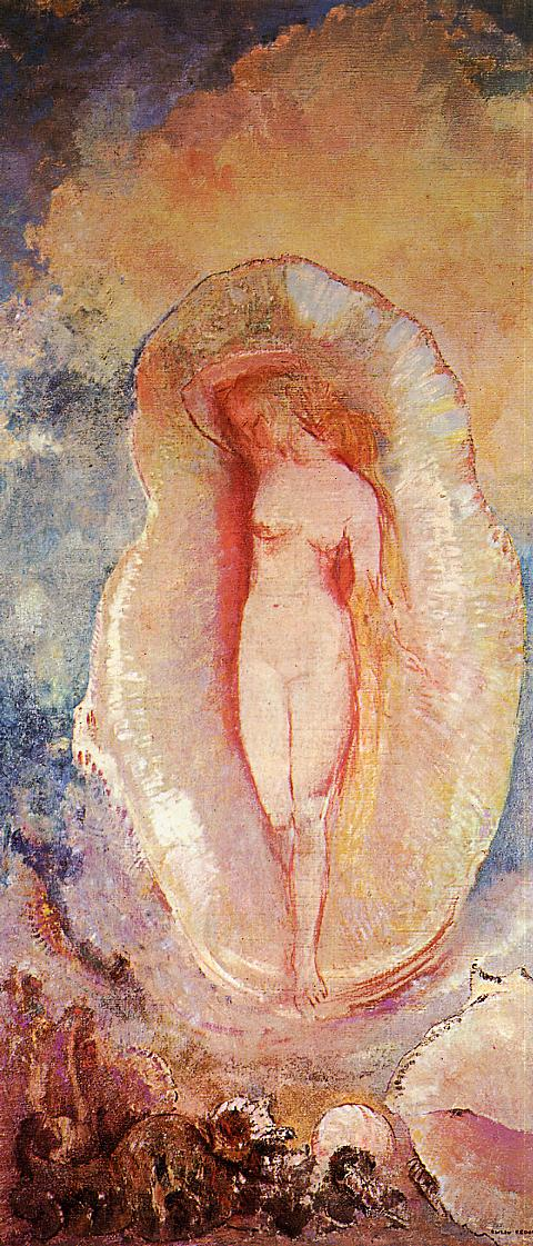 1912 The Birth of Venus. Odilon Redon.