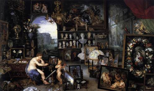 Jan Brueghel the Elder and Peter Paul Rubens. Allegory of Sight. c. 1618