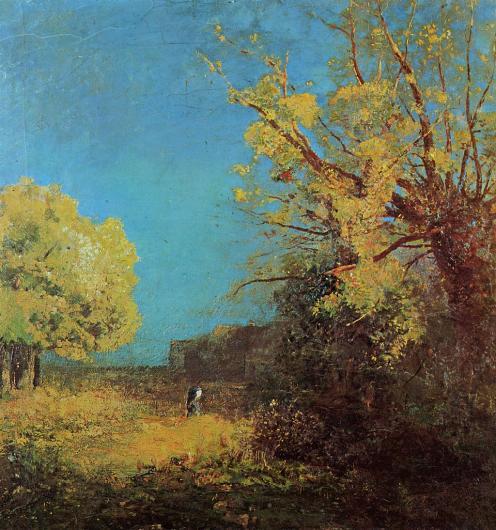 1890 Peyrelebade Landscape
