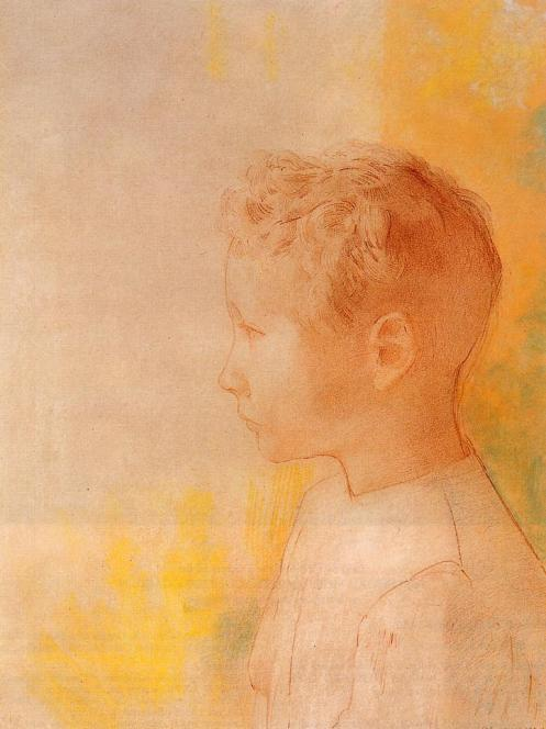 1898 Portrait of the Son of Robert de Comecy
