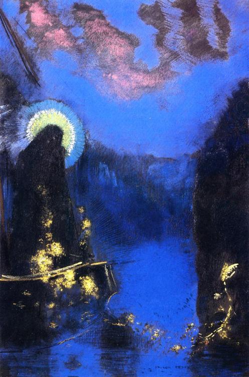 1898 Vierge nimbée