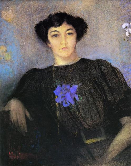 1907 Portrait of Madame Gustave Fayet