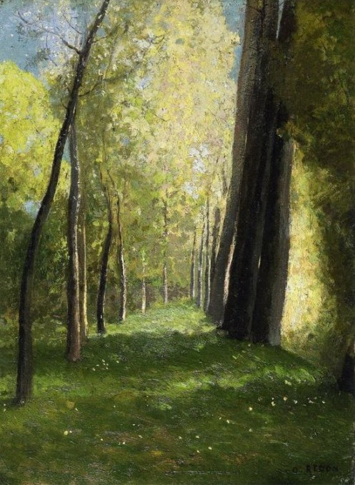 Lane of Trees