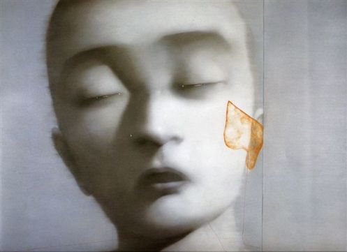 Zhang Xiaogang  BLOODLINE SERIES - REMEMBER AND FORGET 2003