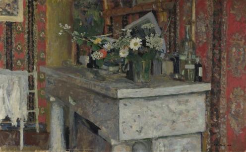 Edouard Vuillard - The Mantelpiece (La Cheminée)